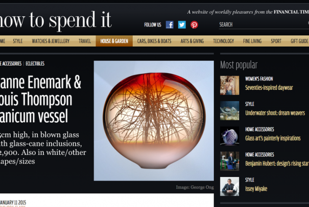FT - How To Spend It Image