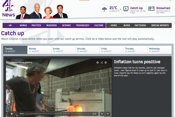 Channel 4 News Image
