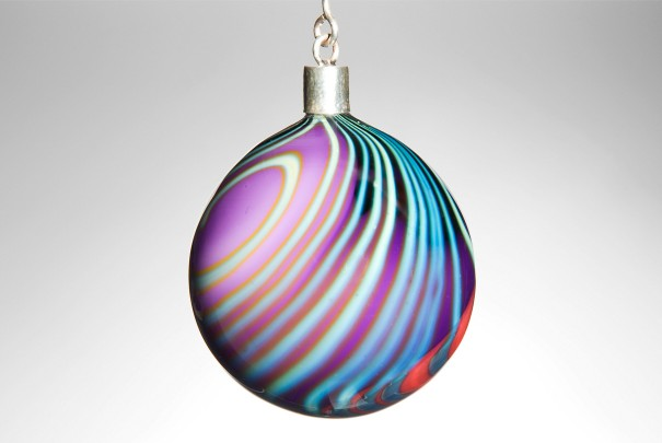 Purple Paradiso Bauble Image