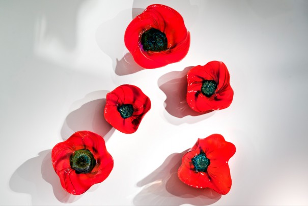 Memories - Poppy Wall Installation Image