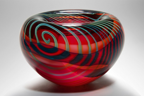 Pink Paradiso Medium Thick Bowl Image