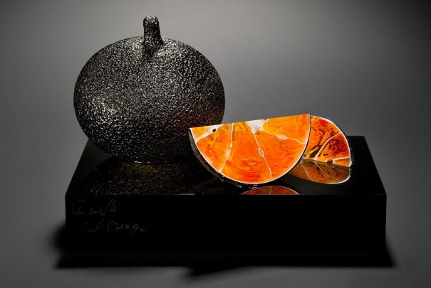 Cut Orange Image