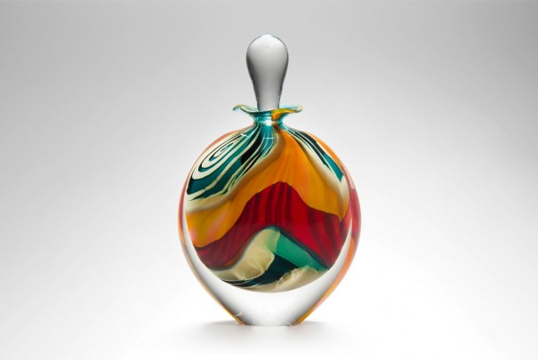 Green Paradiso Stoneform Perfume Bottle Image