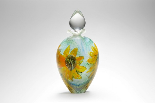 Sunflower Ovoid Perfume Bottle Image