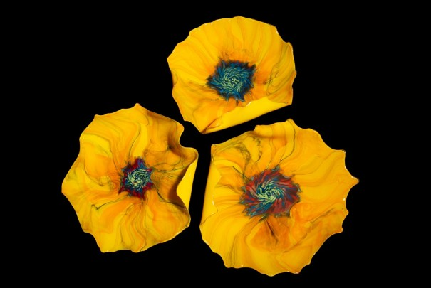 Sunflower Platters Image