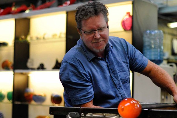 Glassblowing Demonstration by Bruce Marks Image