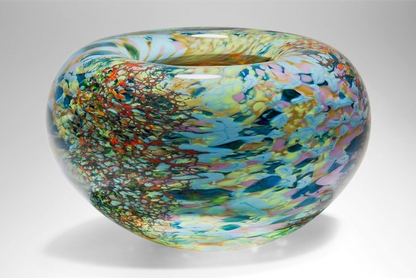 Large Reef Thick Roll Top Bowl Image