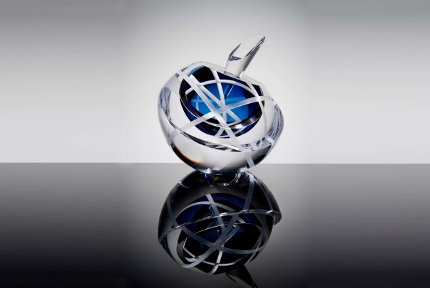Orrery Scent Bottle in Blue Image