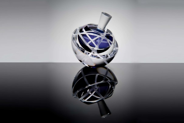 Orrery Scent Bottle in Purple Image
