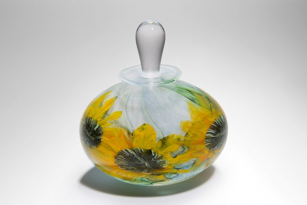 Sunflower Perfume Bottle Image