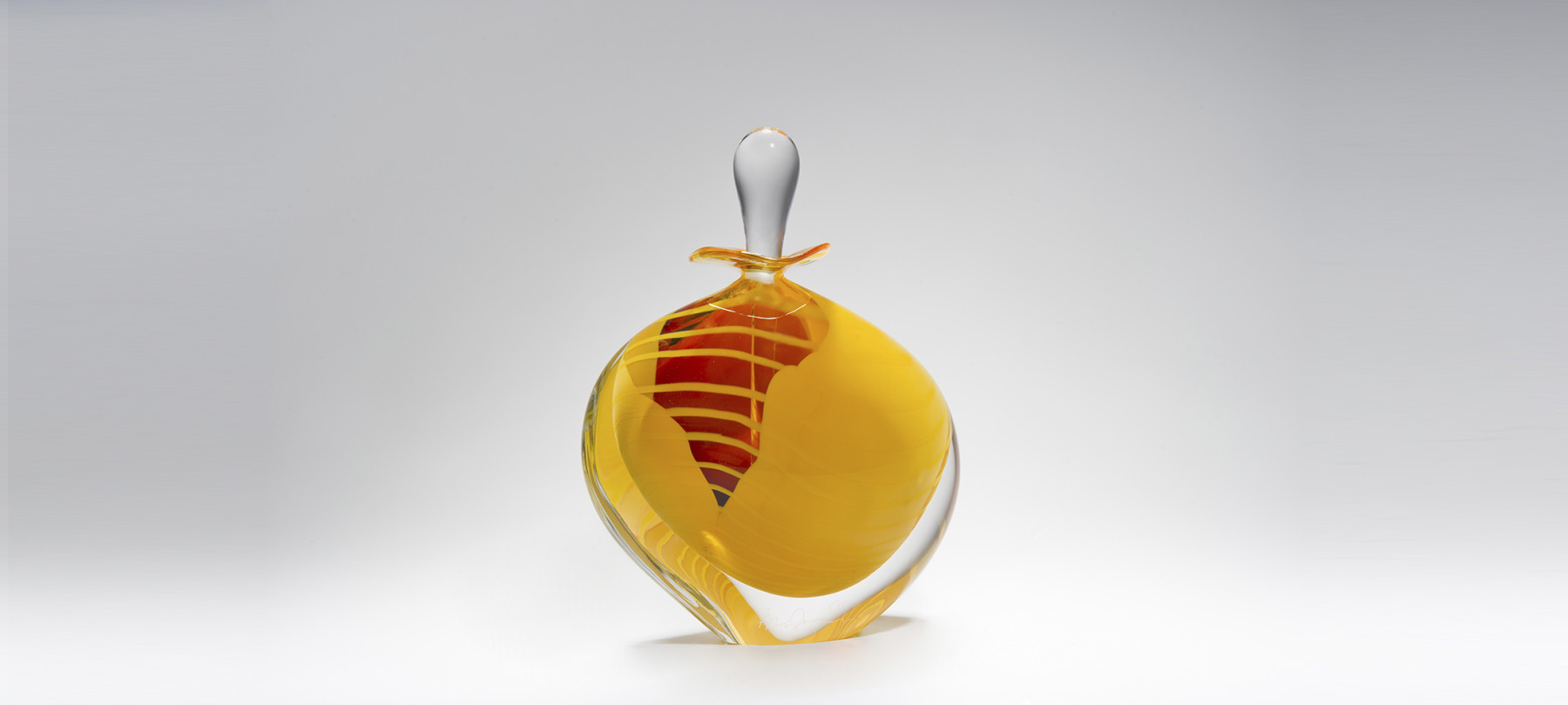 Saffron Scent Bottle New