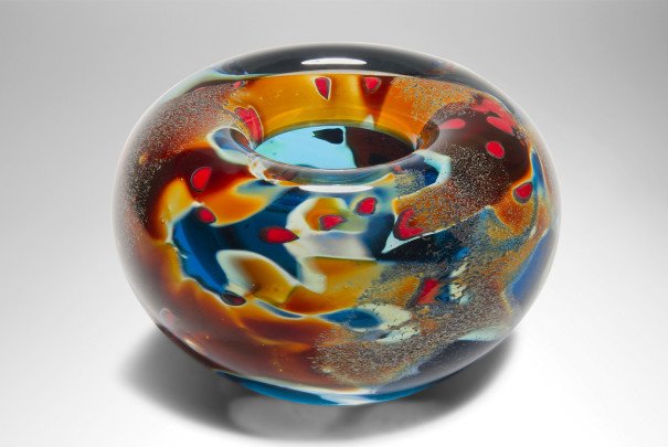 Small Lagoon Roll Top Bowl Image