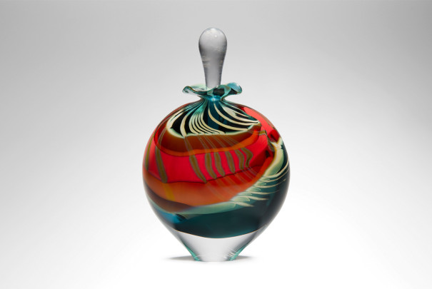 Green Paradiso Wide Perfume Bottle Image