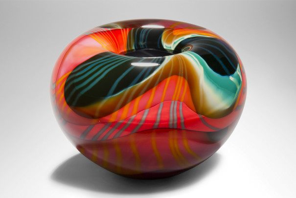Large Black Paradiso Bowl Image