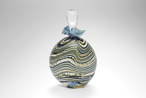 Glacier Green Stoneform Perfume Bottle Image