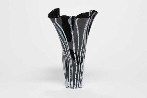 Lot 63 - Large Development Glacier Flared Vase, Reserve Price £1,100 Image