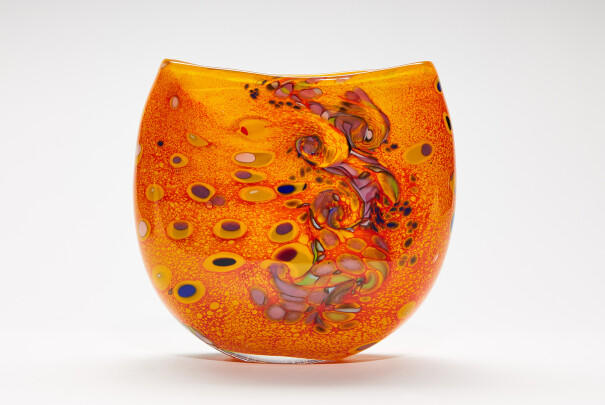 Medium Klimt Circles of Hope Wide Vase Image