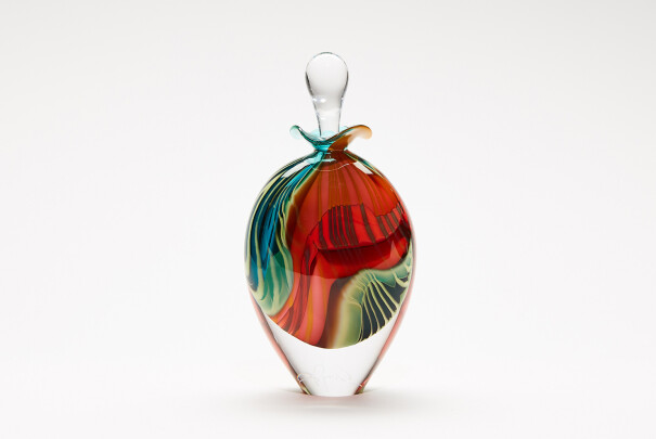 Perfume Bottle Green Paradiso Tall Image
