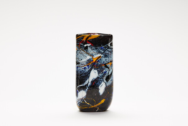 Small Pollock Triangular Vase Image