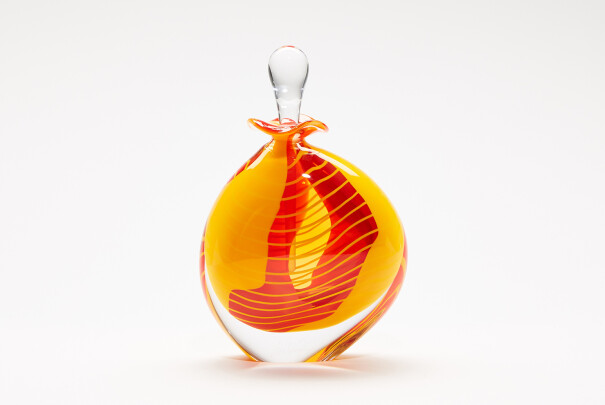 Saffron Wide Perfume Bottle Image
