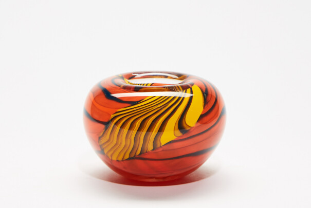 Small Tiger Tiger! Roll Top Bowl Image