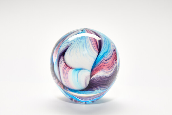 Medium Pastel Georgia Sphere Image