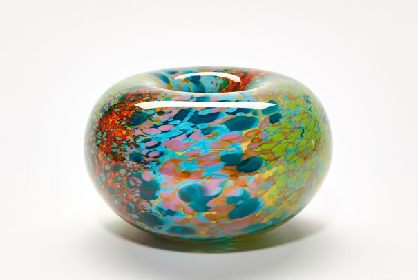 Small Reef Roll Top Bowl Image
