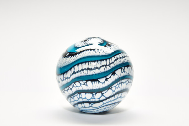 Small Turquoise Glacier Sphere Image