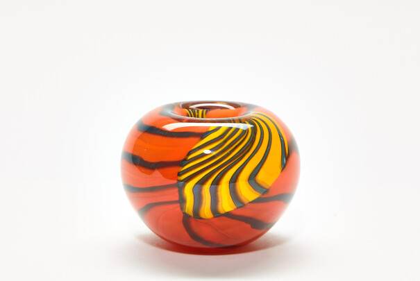 Small Tiger Tiger Roll Top Bowl Image