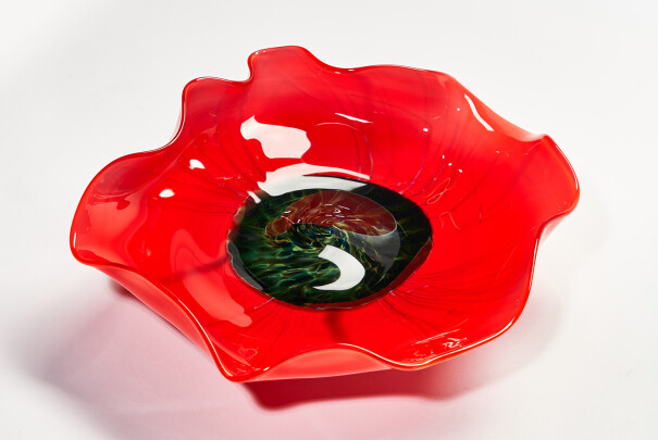 Medium Poppies Platter Image