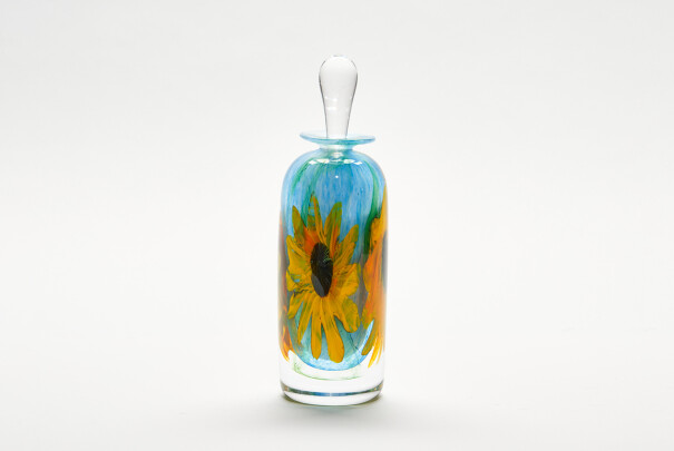 Sunflowers Tall Perfume Bottle Image