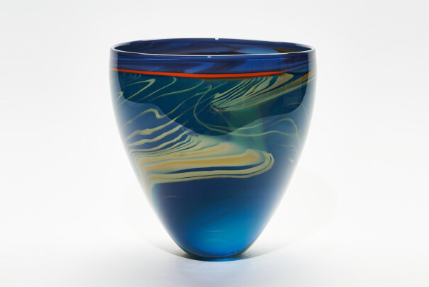 Lot 61 - Ebbtide Large Vase, Peter Layton, Reserve Price £920 Image