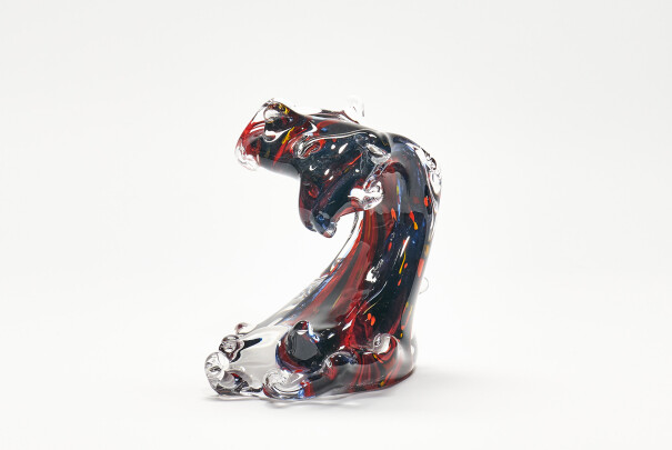 Small Wave - Red Dancer Image
