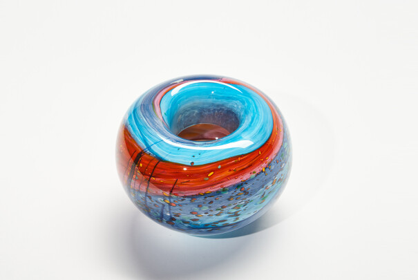 Small Beach Roll Top Bowl Image