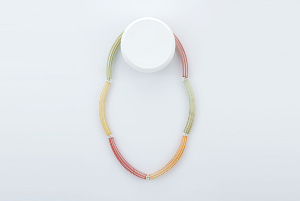 Curved Tubes - Multicoloured Image